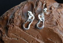 Climbing stuff / #Climbing jewelry, made in sterling silver. A perfect #gift for #rock #climbers