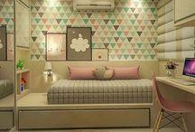 Modern girls room