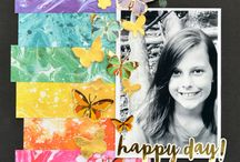 scrapbooking single pic page