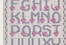 abecedario punto dw cruz