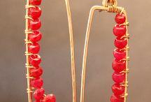 Jewelry - earrings / by Vika Rose