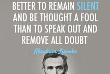 Words of Abe Lincoln