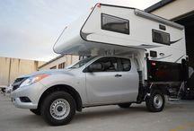Slide-on camper