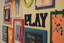Kids playroom / by Jennifer Powell Rotolante