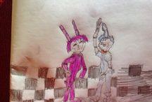 Drawings FNAf