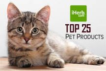 Top 25 ~ Pets / Top 25 Best Pet Products on iHerb (http://www.iherb.com/Pets) ~ New Customers can use Rewards Code PNT999 to get $10 off of a $40 minimum purchase or $5 off first time orders of less than $40.  / by iHerb Inc