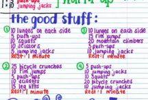 Healthy lifestyle / Fitness / by Leah Pereyra