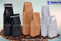 Gusset Bags / Swiss Pac's #GussetBags is fabricated with or without zip lock strip and centrally sealed on the back side of the bag. We use excellent grade raw material like plastic, #Brownpaper, #Whitepaper, #Mattfinish and transparent clear #Bags to fabricate exclusive and highly functional #GussetBags. http://www.standuppouches.co.uk/gusset-bags.htm