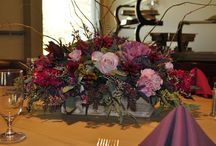 Rustic Floral Arrangement as Table Centerpiece / visit us-  Maria and Larry at FloralExpressionsOnline.com