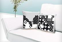 I CUSCINI / Cuscini decorati con stampa sublimatica. Prodotto 100% Made in Italy. Soggetto a scelta tra le collezioni PIT-POP.