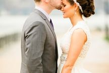 Wedding - forehead kiss