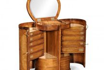 Jonathan Charles Dressing Tables by Swanky Interiors / Jonathan Charles dressing tables, compact dressing tables