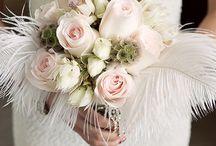 Vintage glam flowers
