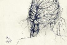 Drawing Hair &