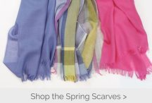 Wraps/ Scarves 2017 / Classic scarves and wraps - Made in Italy and Scotland.