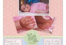 Baby Scrapbook Inspirations / by Kimi Tran