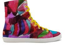 Shoes Painting by Elisavet