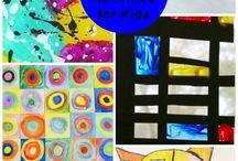 Art @ playgroup / Process art ideas