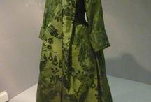 18th c.Banyan, robes d'intérieur et robes de chambre (men & women)