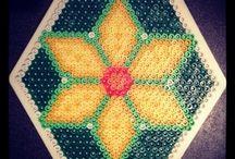 Coaster hama beads