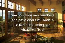 Visualize Your Windows / Want to see how your new windows and patio doors will look in YOUR home? Use our visualizer tool!