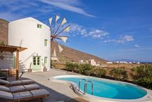 Green Windmill Villa / | WINDMILL VILLAS | Luxury Boutique Villas and Suites in Santorini
