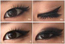 Makeup & Eyes & lips