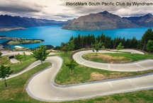 Wyndham Resort Wanaka / Wyndham Vacation Resorts Wanaka is located in a spectacular region on New Zealand's South Island nearby to awe-inspiring natural wonders including Mount Aspiring National Park, Rob Roy Glacier and The Clutha River. Nestled on a quiet, tree-lined street only a short stroll from Lake Wanaka and within two kilometres from the heart of the village, Wyndham Wanaka is a lovely local to base your local adventures from!