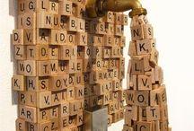 05 - Scrabble Tile Art / by Sue Nic
