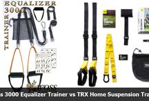 TRX Straps / Looking for TRX Straps or Suspension Training Straps? We discuss the various types of suspension training straps, price and benefits.
