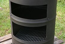 bidone barbecue