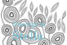 Colouring pages available on Drawings by Stella / adult coloring pages