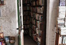 Places, spaces & books
