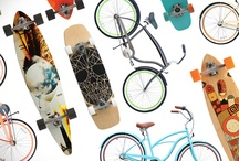 Cruisers and Longboards / Ride into summer with this artful revival. / by the Foundary