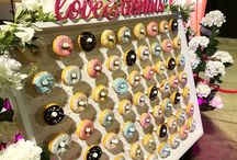 Photobomb's Donut Wall / A fun alternative to Cake or traditional favours... this is Our Donut Wall - Available for any events and adapting colour themes of each donut to your choice! Get your quotation now!