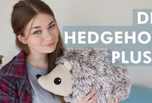 Hedgehogs / Crafty ideas for making hedgehogs