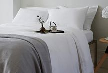 Laid Back Linen / There is nothing more luxurious in our opinion than slipping between beautiful linen sheets….bliss!