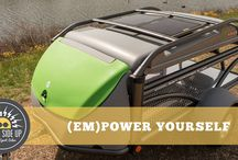 Sunny Side Up - Solar Power for Your GO! / SylvanSport teamed up with GoalZero to create a solar power system designed specifically for the GO. Free yourself from the grid and discover a whole new world of adventures.