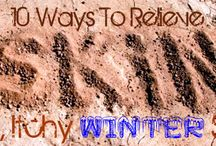 Ten Ways To Relieve Dry Itchy Winter Skin / #skincare #homeremedy #remedy #howto #tips #natural #dryskin #winter / by Helen Nguyen