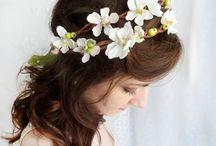 spring flowers crown