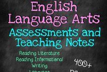 Language Arts / by Emily Leopard