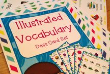 TPT Vocabulary / Vocabulary Products and Freebies