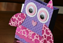 owl valentines boxes