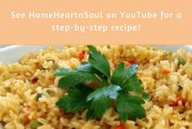 HomeHeartnSoul / homeheartnsoul.com and HomeHeartnSoul on YouTube, shares yummy recipes and fun do-it-yourself projects!  Regular posts which provide step-by-step instructions.