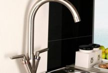 Brushed Steel Kitchen Taps / Brushed Steel Kitchen Taps