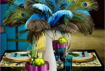 Pawie pióra - inspiracje