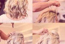 Al's bridesmaid hair