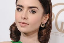 stylish actresses: lily collins