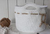 Crochet baskets/bags