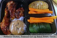 School Lunch Ideas / I'm on a mission to make prepared school lunches from home not suck. More info here: http://crazyadventuresinparenting.com/operation-awesome-school-lunch / by Lisa : Crazy Adventures in Parenting